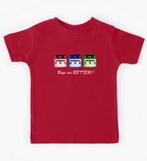 VW Kombi shirt - Bays are BETTER!!  Kids Tee