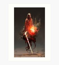 Acolyte of Embers Art Print