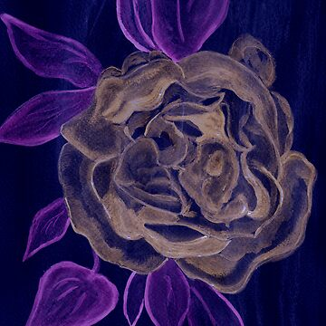 A Rose in the Negative by AnneG