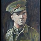 NORMAN BOWLY-WW1 by Wayne Dowsent