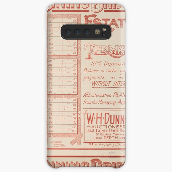First sub-division of the Canning Bridge Estate 1914, State Library of Western Austrlaia Samsung Galaxy Snap Case