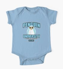 Penguin University - Blue One Piece - Short Sleeve