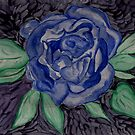 The Blue Rose by Anne Gitto
