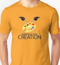 Weapons of mass creation - Yellow T-Shirt