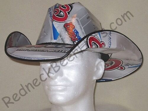 Coors Light Style Beer Box Cowboy Hat by shakiamen26