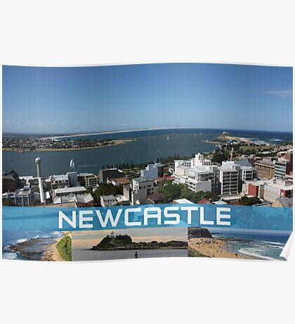 Scenic Newcastle Poster