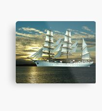 Windjammer Metal Print