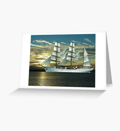 Windjammer Greeting Card