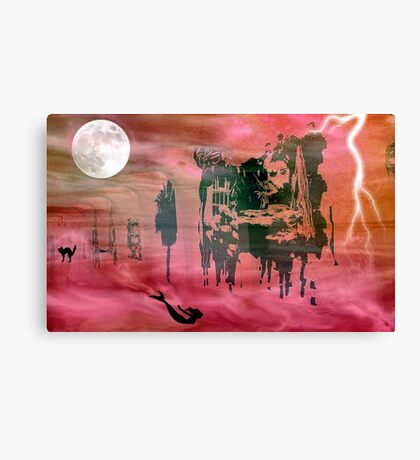 Alice's Nightmare © Canvas Print