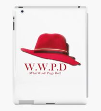 What Would Peggy Do? iPad Case/Skin