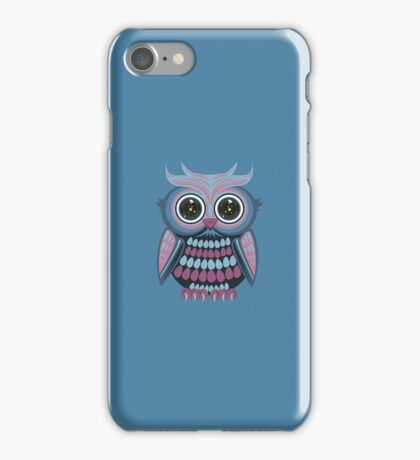 Star Eye Owl - Blue Purple 3 iPhone Case/Skin