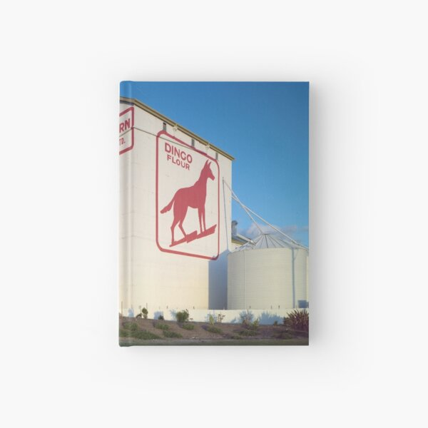 Dingo Flour, Great Southern Roller Flour Mills, North Fremantle, 4 July 1985, State Library of Western Australia Hardcover Journal