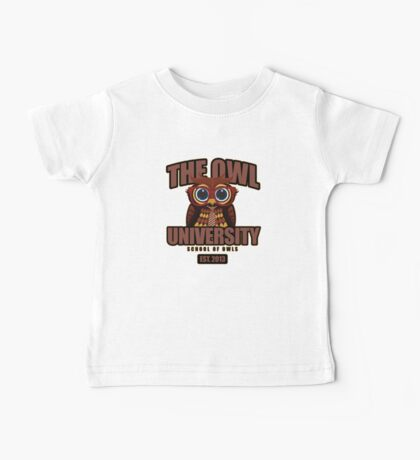 The Owl University Kids Clothes
