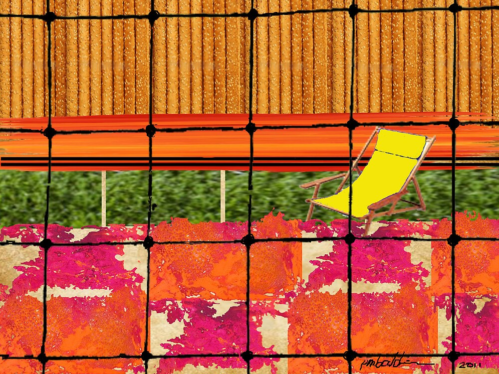 """Backyard Barricade"" by Patrice Baldwin"