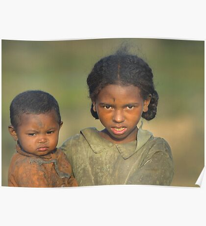 Malagasy Children Poster