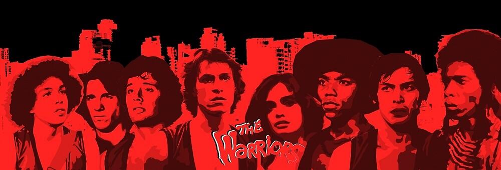 The Warriors - Vector Art  by sirllamalot