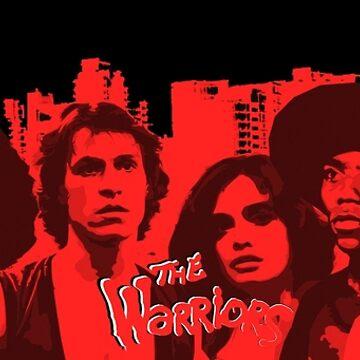 The Warriors - Arte vectorial de sirllamalot