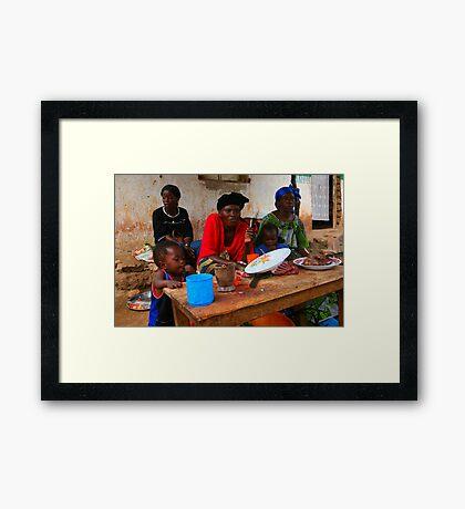 Street Vendors - Democratic Republic of Congo Framed Print