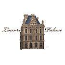 « Le Palais du Louvre » par Akira Hikawa