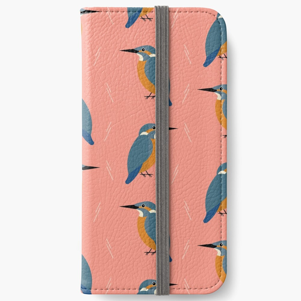 Kingfishers everywhere iPhone Wallet