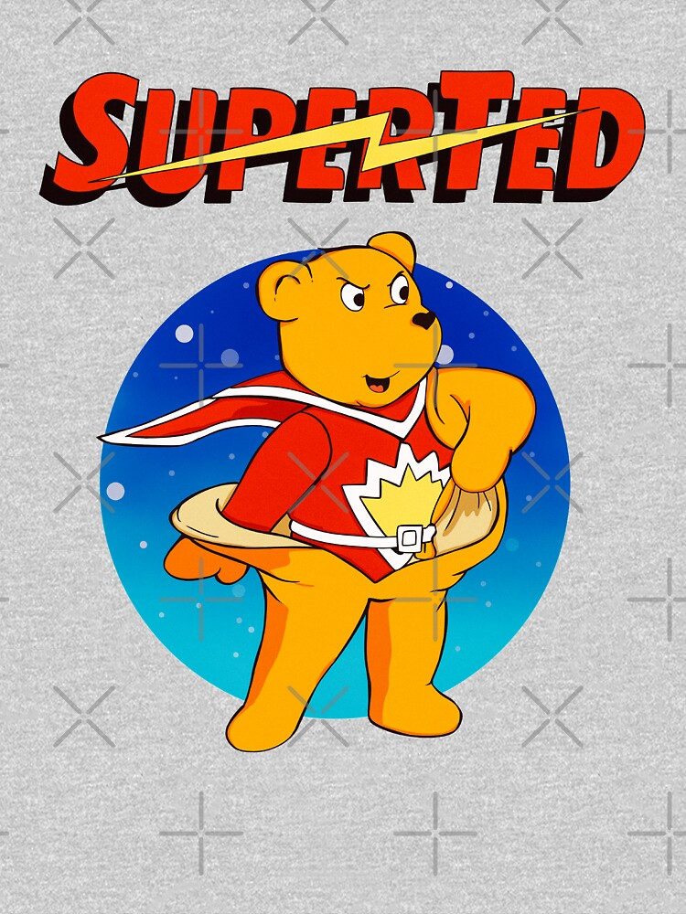 Superted the retro teddy bear by MimieTrouvetou