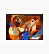 ORNITHOLOGY - CHARLIE PARKER WITH DODO MARMAROSA 1946 Art Print
