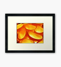 The Formless Forms the Fire Framed Print