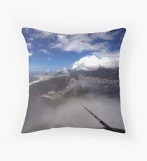 Misty View - Rio de Janerio Throw Pillow