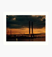 bolte bridge,melbourne Art Print