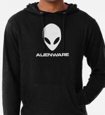 Alienware Dell Gaming logo White Lightweight Hoodie