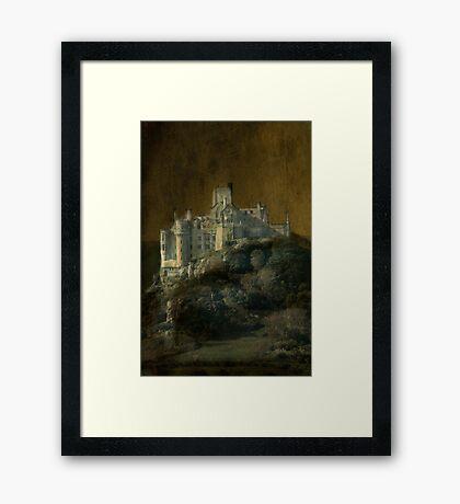 Gothic Mount Framed Print