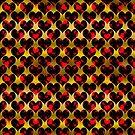 Decorative hearts,satin effect. by starchim01