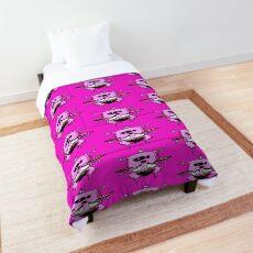 Courage the Cowardly Dog™ Splattered Comforter