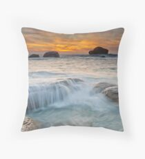 The Red Gate  Throw Pillow