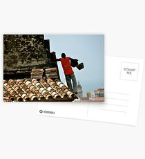 Finding his Step Postcards
