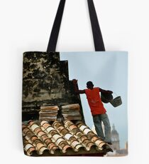 Finding his Step Tote Bag