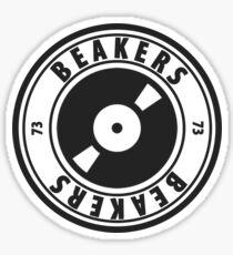 Beakers Vinyl Logo Sticker