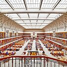Mitchell Library Reading Room by Rod Kashubin
