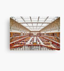 Mitchell Library Reading Room Canvas Print