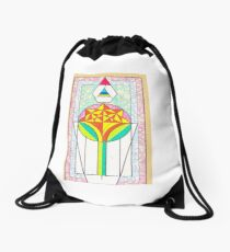 Florescence Drawstring Bag