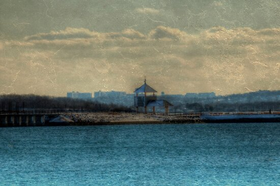 Winter on Castle Island by Monica M. Scanlan