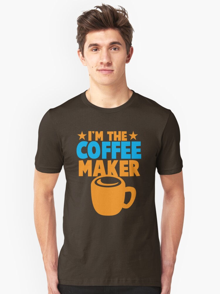 I'm the COFFEE MAKER by jazzydevil