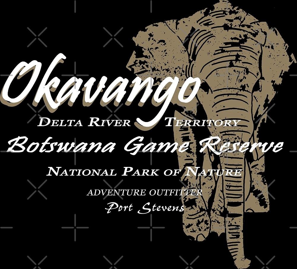 Okavango Elephant by Port-Stevens