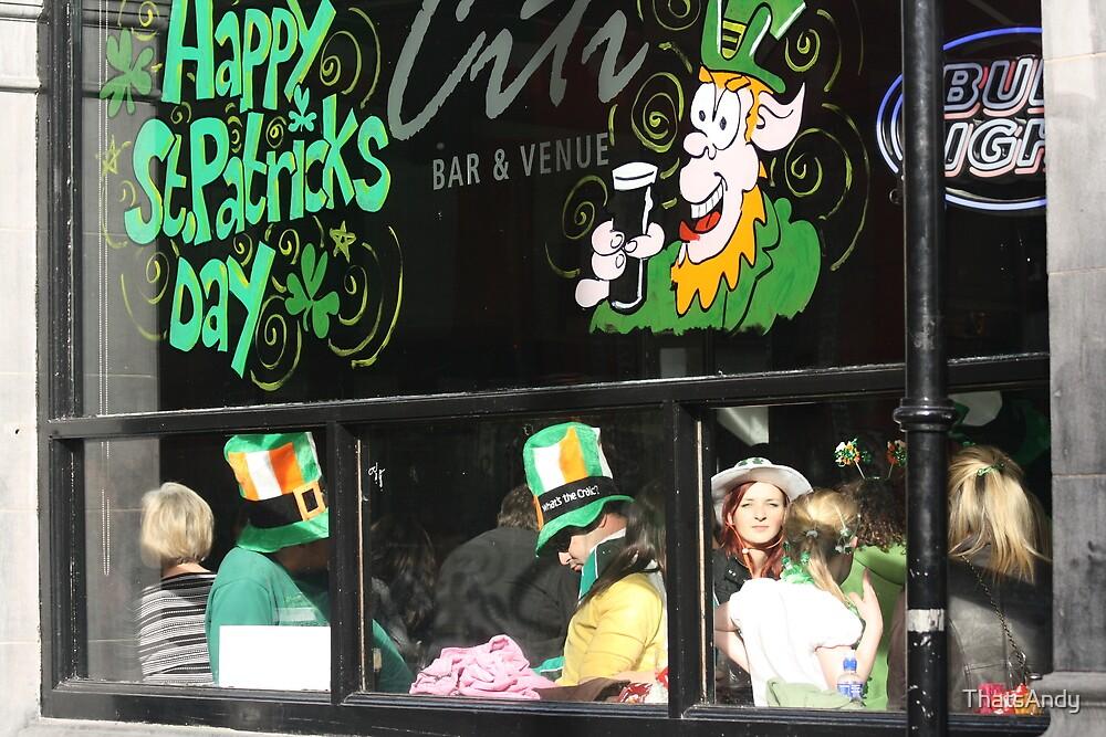 St Patrick's Day in Dublin by ThatsAndy