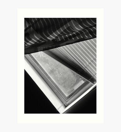 01-25-11  Lazy View of The Magic Window Art Print