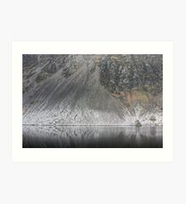 Wastwater Screes ..A Closer View Art Print