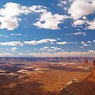 Canyonland vista from Island in the Sky by Alex Cassels