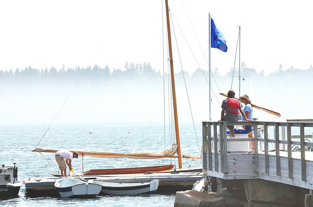 Wooden Boat School, Brooklin, Maine by fauselr