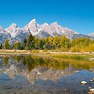 Snake River and the Tetons by Alex Cassels