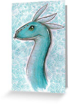 Blue Dragon by Airwarrior